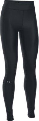 Under Armour Womens HeatGear Gym Training Full Length Tight Leggings Grey