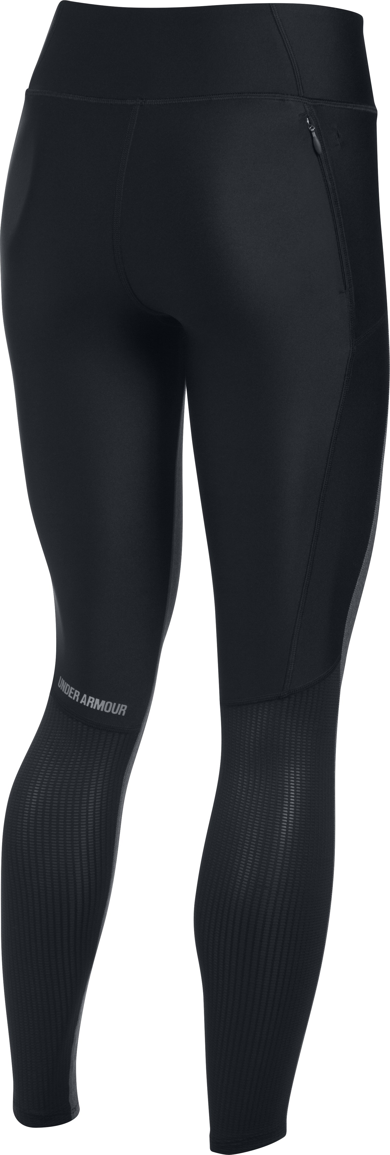 Women's UA Fly-By Leggings, Black ,