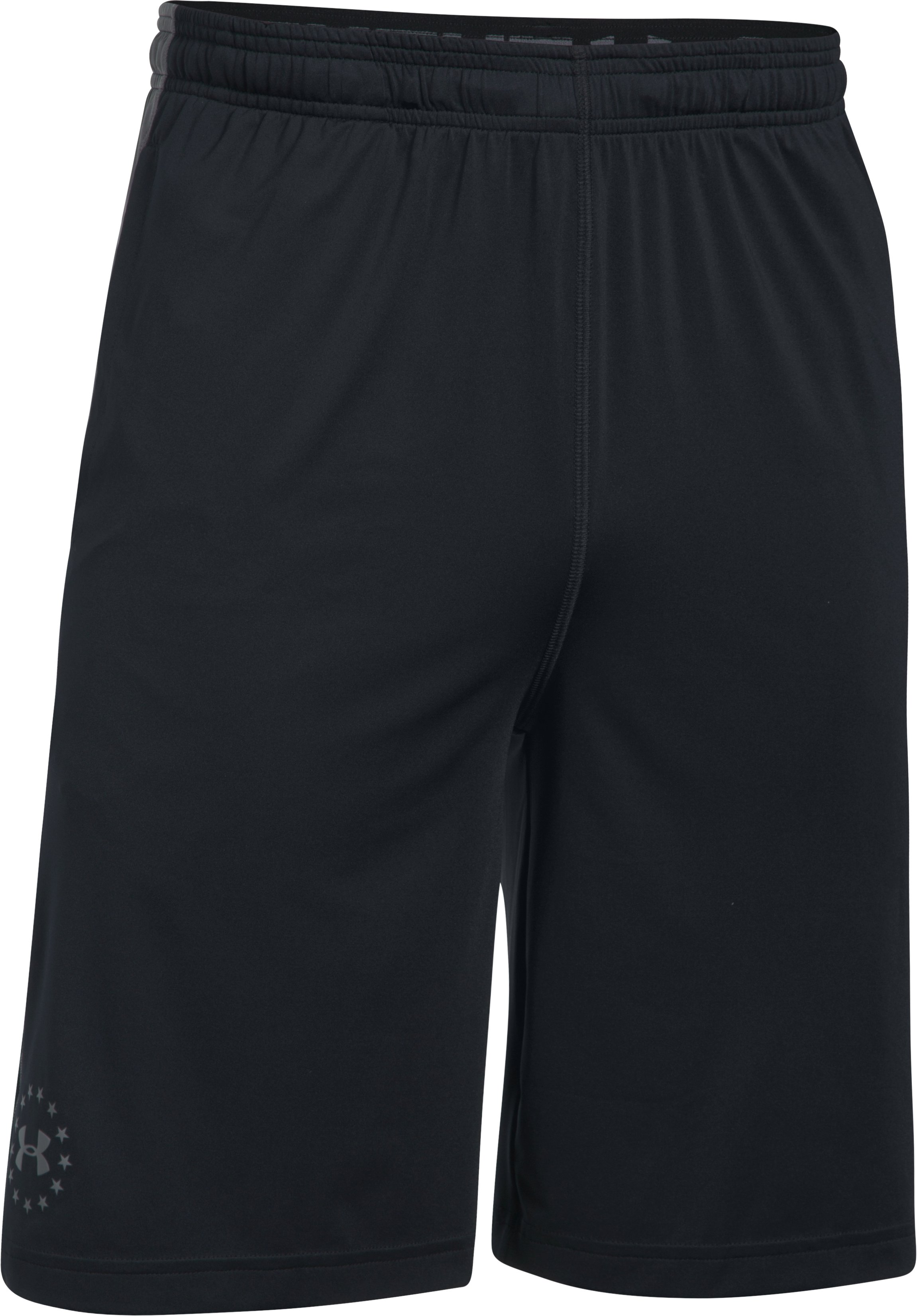 Men's UA Freedom Raid Shorts, Black , undefined