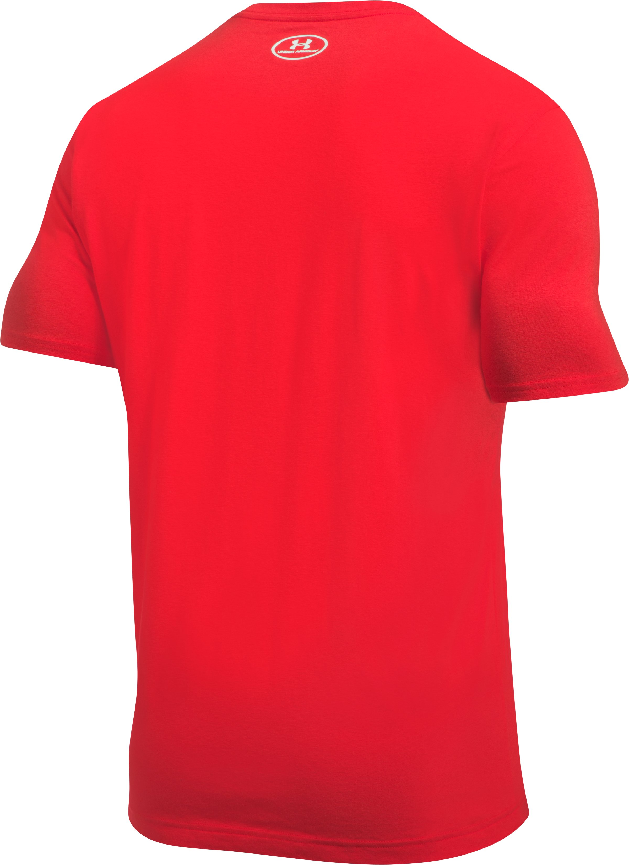 Men's UA Freedom Eagle T-Shirt, Red, undefined