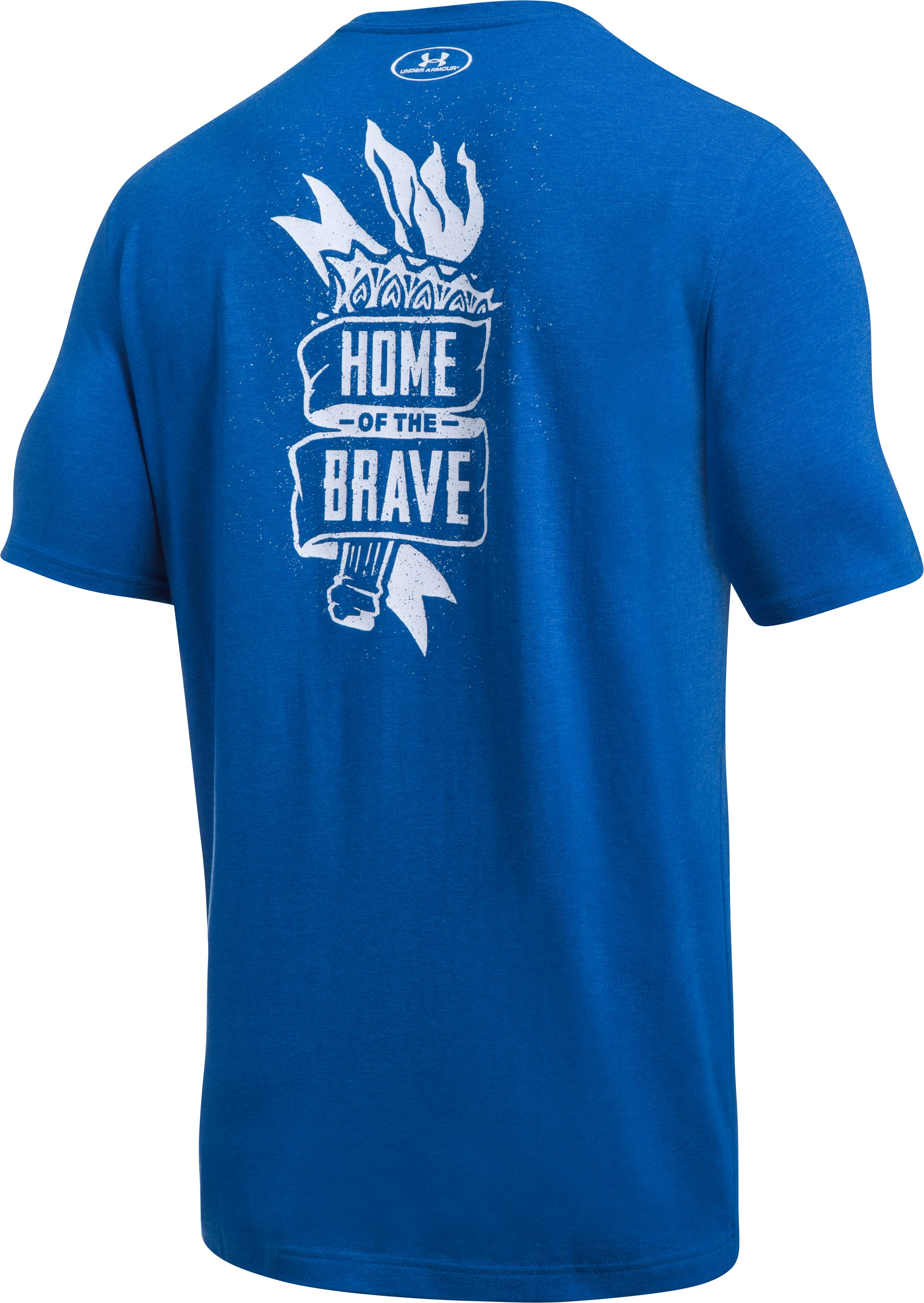 Men's UA Freedom Home Of T-Shirt, Royal,