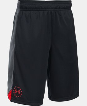 Boys' UA Freedom Shorts  1  Color Available $18.74