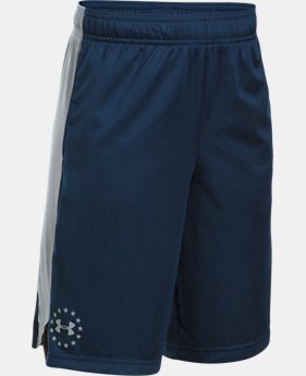 New Arrival Boys' UA Freedom Shorts  1 Color $24.99