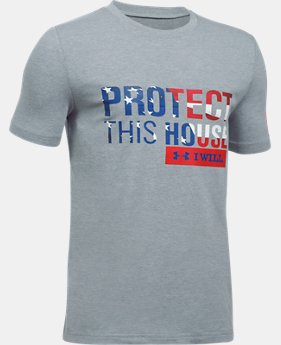 Boys' UA Freedom PTH T-Shirt  2  Colors Available $19.99