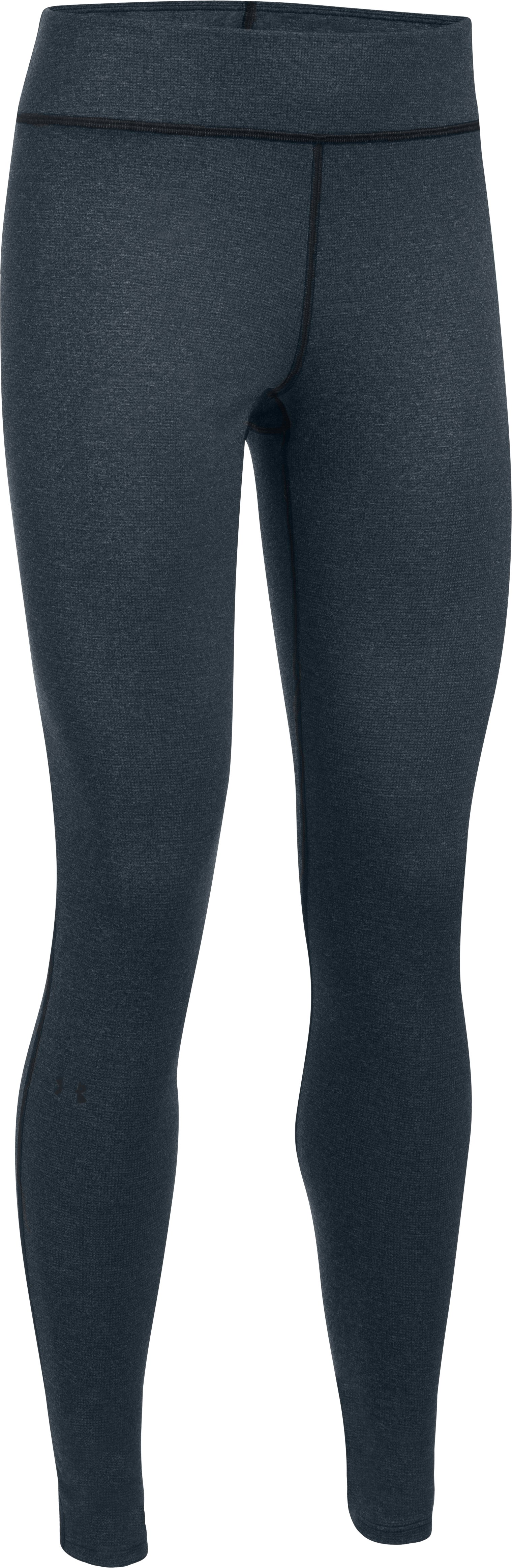 Women's UA Wool Leggings, Black , undefined