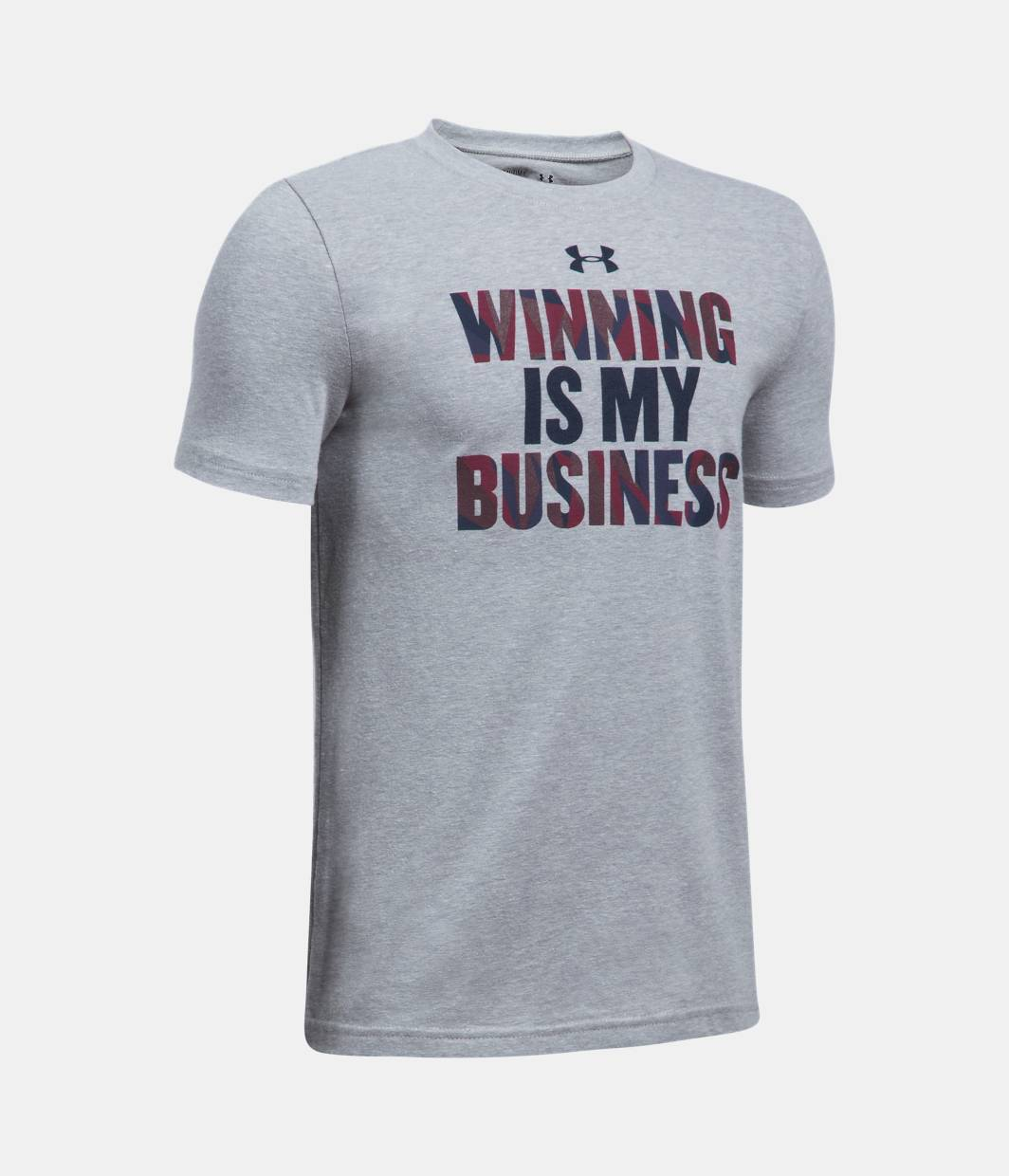 Boys 39 ua winning business t shirt under armour us for Under armor business shirts