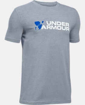 Boys' UA Duo Branded T-Shirt  1 Color $19.99