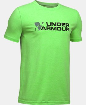 New to Outlet Boys' UA Duo Branded T-Shirt  3 Colors $13.99