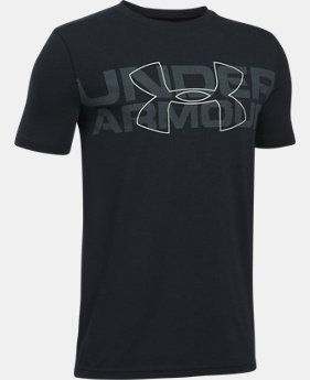 Boys' UA Duo Armour T-Shirt LIMITED TIME: FREE SHIPPING 5 Colors $22.99
