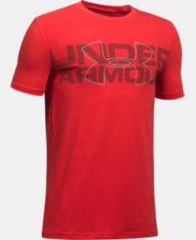 New Arrival Boys' UA Duo Armour T-Shirt  1 Color $19.99