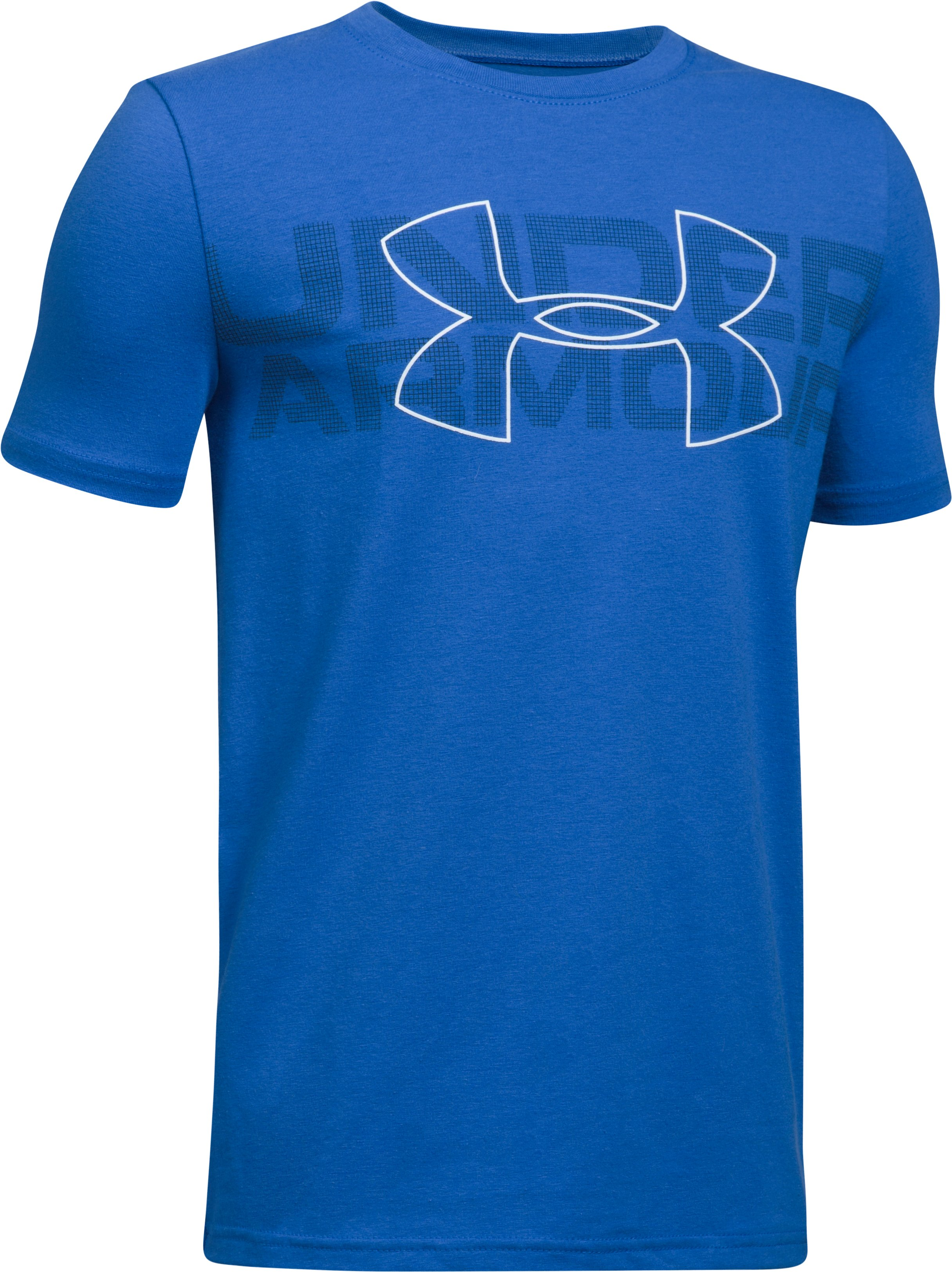 Boys' UA Duo Armour T-Shirt, ULTRA BLUE,