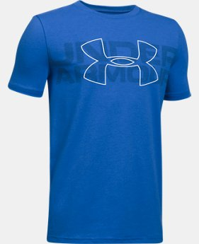 Boys' UA Duo Armour T-Shirt LIMITED TIME: FREE SHIPPING 1 Color $22.99