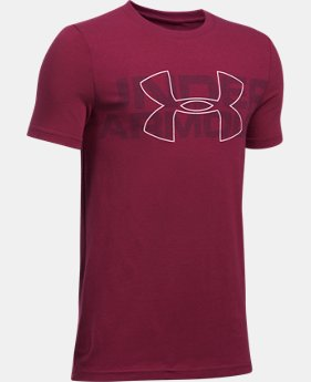 Boys' UA Duo Armour T-Shirt  1 Color $22.99