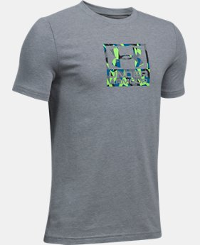 New Arrival Boys' UA Duo Blocked T-Shirt  2 Colors $19.99