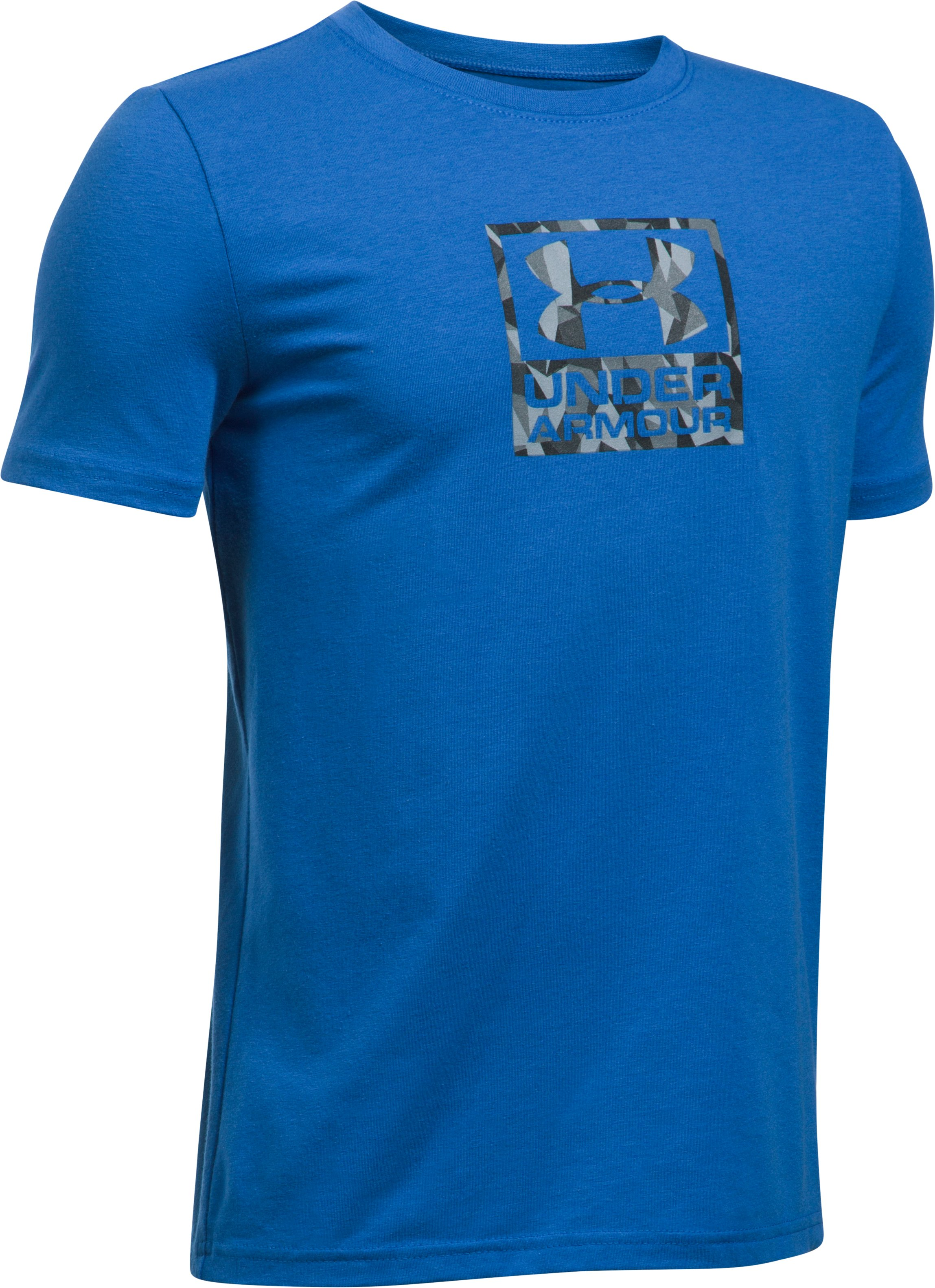 Boys' UA Duo Blocked T-Shirt, ULTRA BLUE, undefined