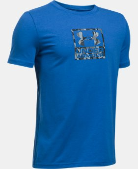 Boys' UA Duo Blocked T-Shirt  1 Color $19.99