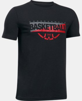 New Arrival  Boys' UA Baseline Graphic T-Shirt  1 Color $22.99