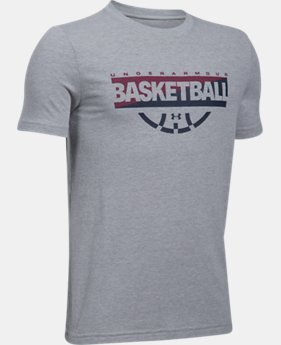 Boys' UA Baseline Graphic T-Shirt  1 Color $22.99