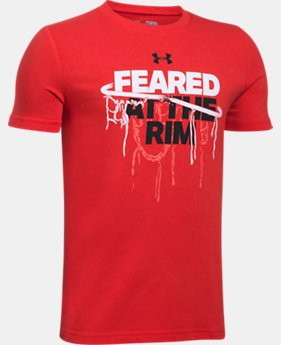 Boys' UA Feared At The Rim T-Shirt  4 Colors $19.99