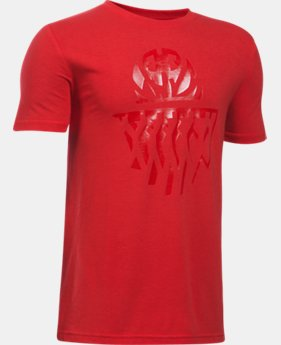 New Arrival  Boys' UA Ball From Within T-Shirt  1 Color $22.99
