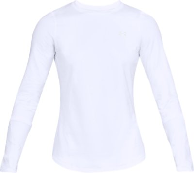Under Armour Damen ColdGear Armour Form Crew Langarm-Shirt