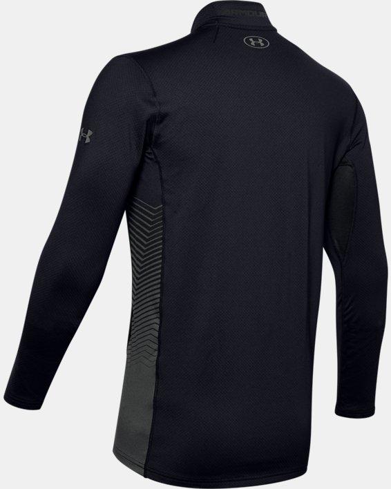 Maillot ColdGear® Reactor Fitted à manches longues pour homme, Black, pdpMainDesktop image number 5