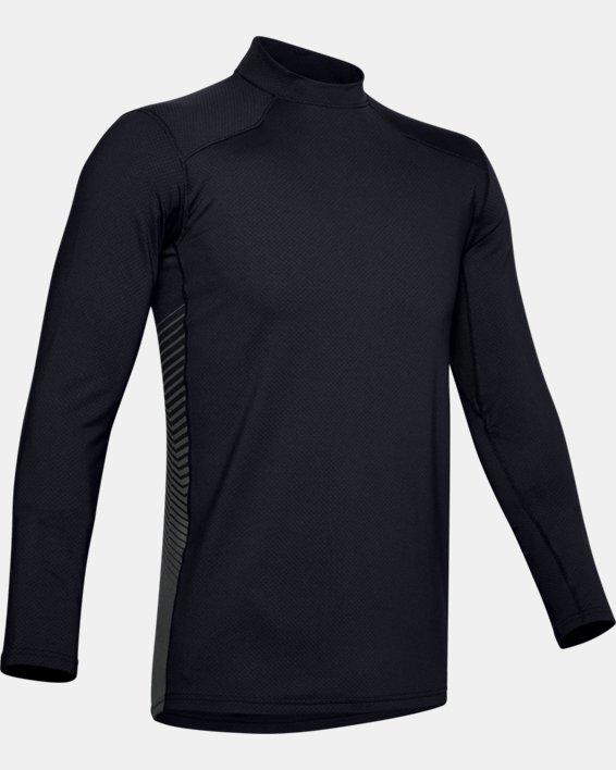 Maillot ColdGear® Reactor Fitted à manches longues pour homme, Black, pdpMainDesktop image number 4