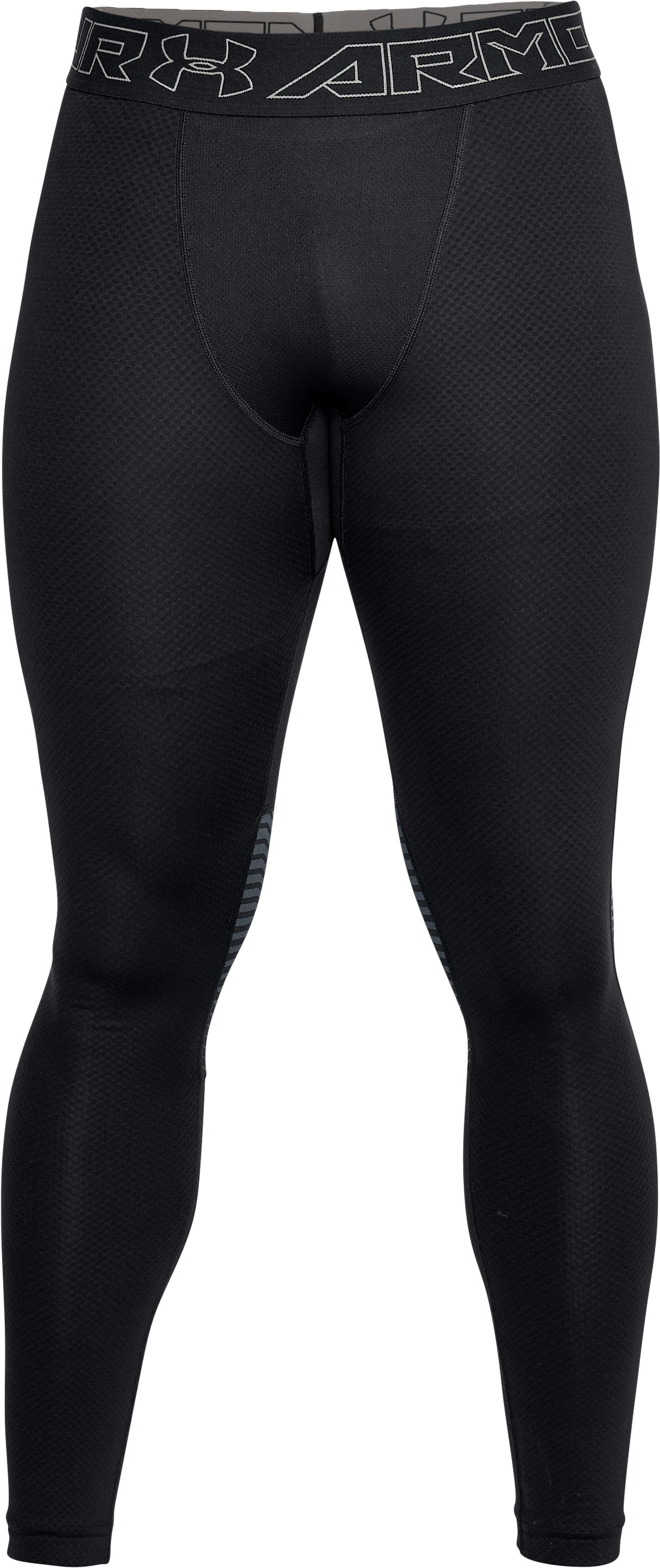 Men's ColdGear® Reactor Leggings, Black ,