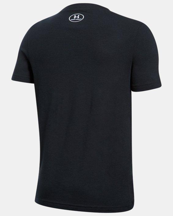 Boys' SC30 Logo T-Shirt, Black, pdpMainDesktop image number 1