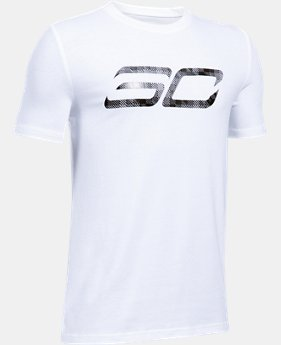 New to Outlet Boys' SC30 Logo T-Shirt  1 Color $17.49 to $24.99