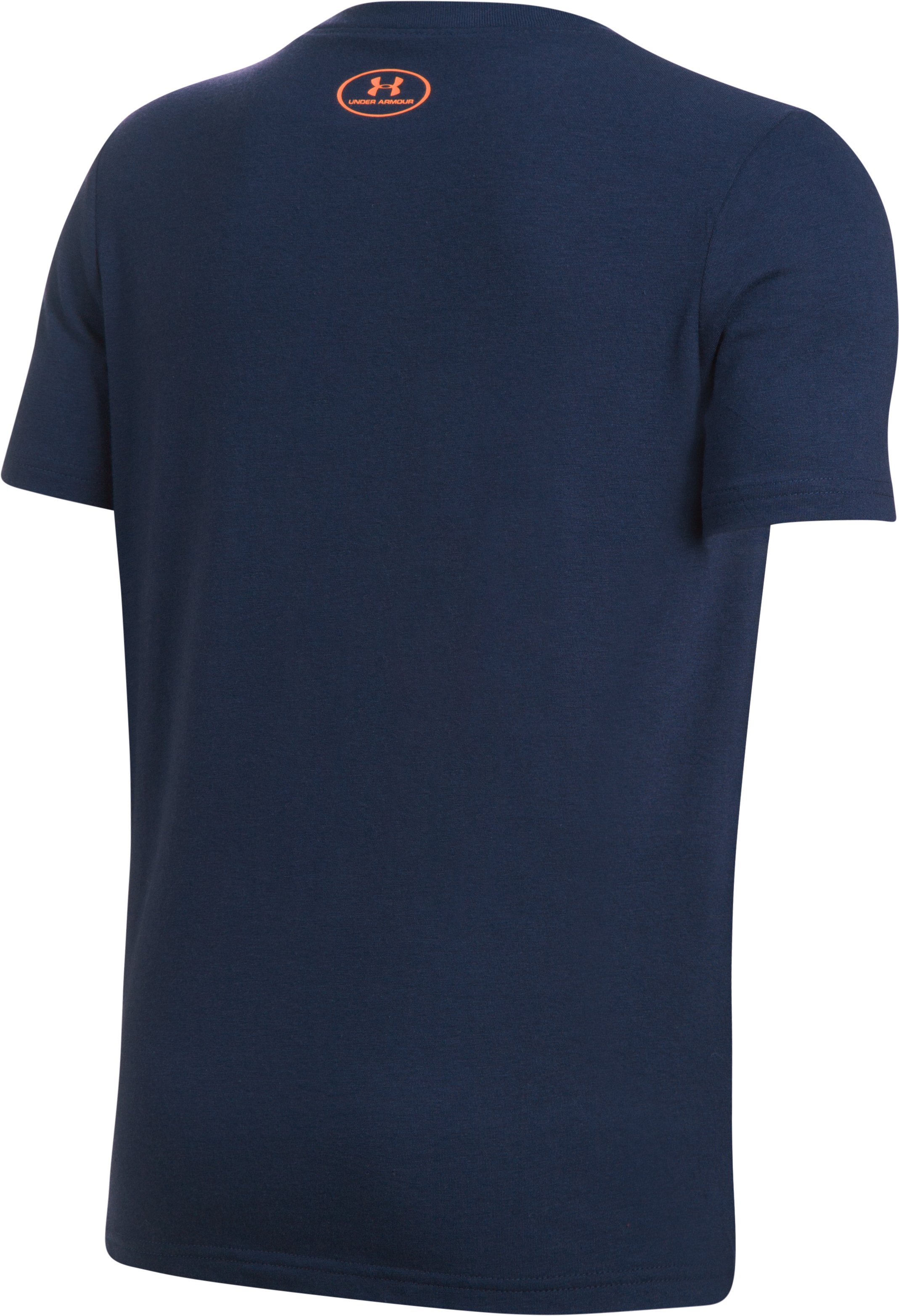 Boys' SC30 Logo T-Shirt, Midnight Navy, undefined