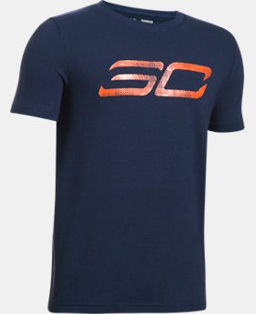 Boys' SC30 Logo T-Shirt  1 Color $24.99