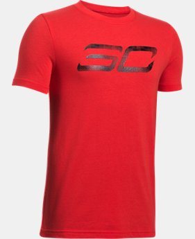 Boys' SC30 Logo T-Shirt  1 Color $29.99