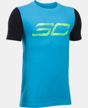 Boys' SC30 Logo T-Shirt  4 Colors $24.99