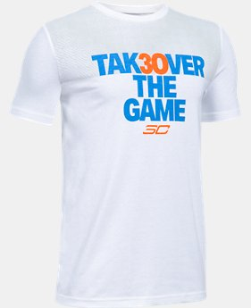 Boys' SC30 Takeover T-Shirt  1  Color Available $17.99 to $22.99