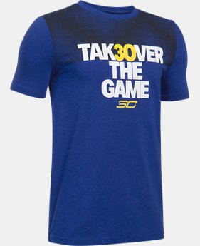 New Arrival Boys' SC30 Takeover T-Shirt  1 Color $29.99