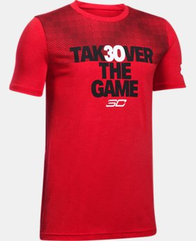 New Arrival  Boys' SC30 Takeover T-Shirt  1 Color $34.99