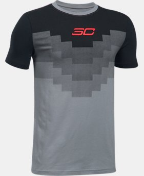 Boys' SC30 Warrior Spirit T-Shirt  1 Color $29.99