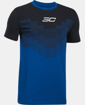 New Arrival Boys' SC30 Warrior Spirit T-Shirt  1 Color $29.99