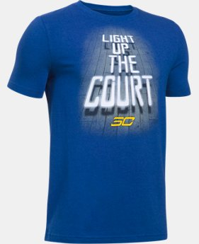 Boys' SC30 Light Up The Court T-Shirt  1 Color $24.99