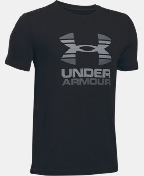 Boys' UA Two Tone Logo T-Shirt  1 Color $19.99