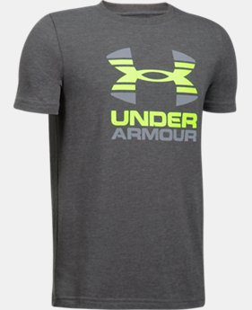 Boys' UA Two Tone Logo T-Shirt  4 Colors $22.99