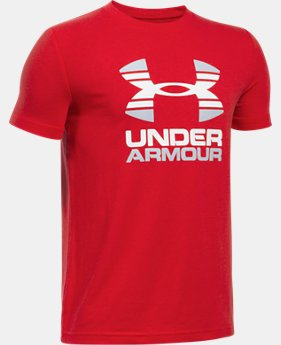 Boys' UA Two Tone Logo T-Shirt  2 Colors $19.99