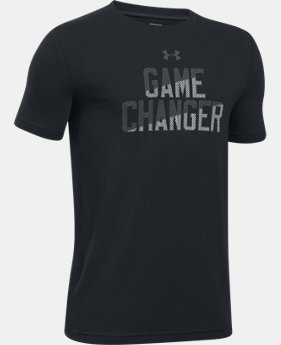 Boys' UA Game Changer T-Shirt  1 Color $22.99