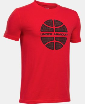 Boys' UA Basketball Branded T-Shirt  2 Colors $19.99