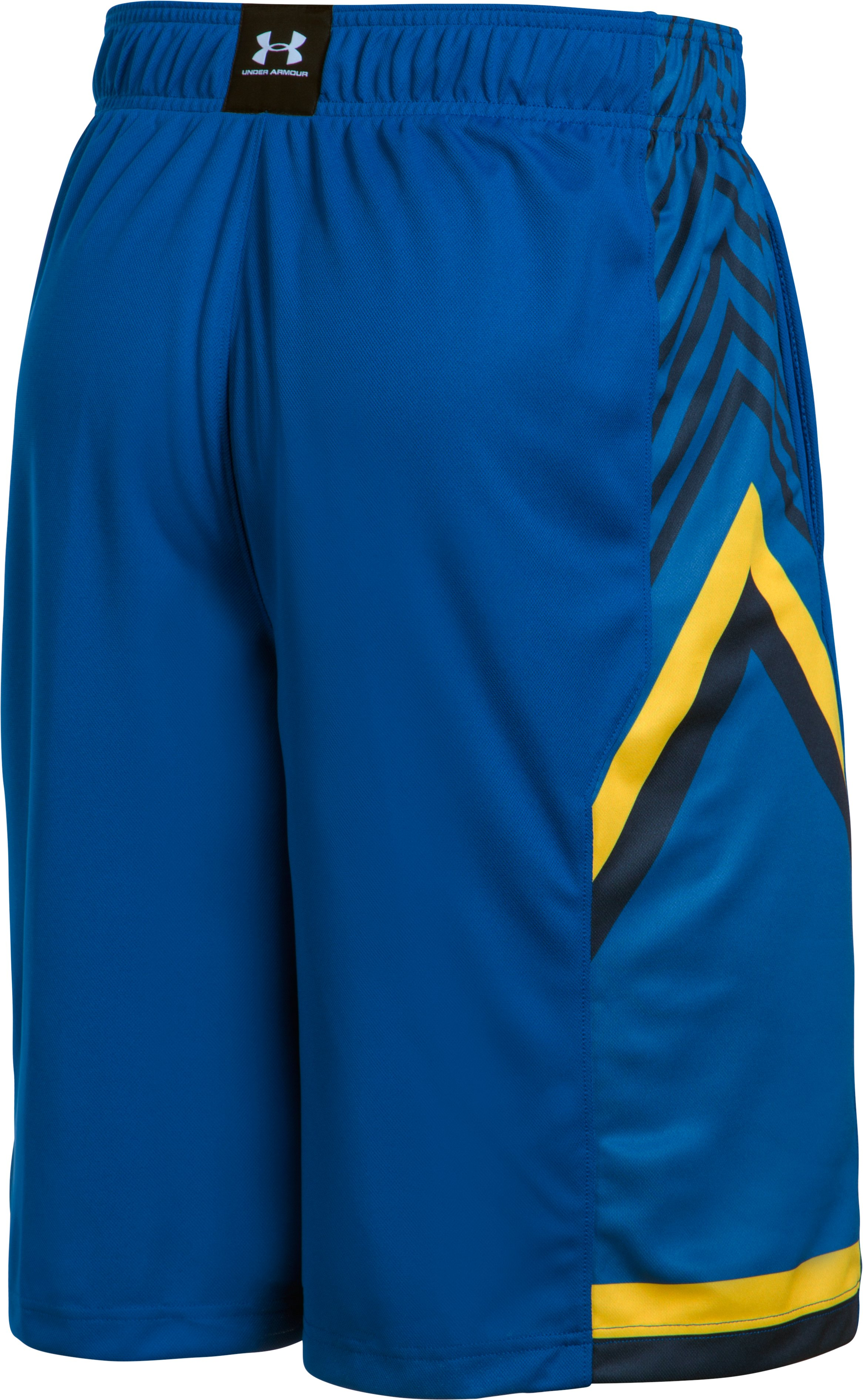 Men's UA Space the Floor Shorts, Royal,