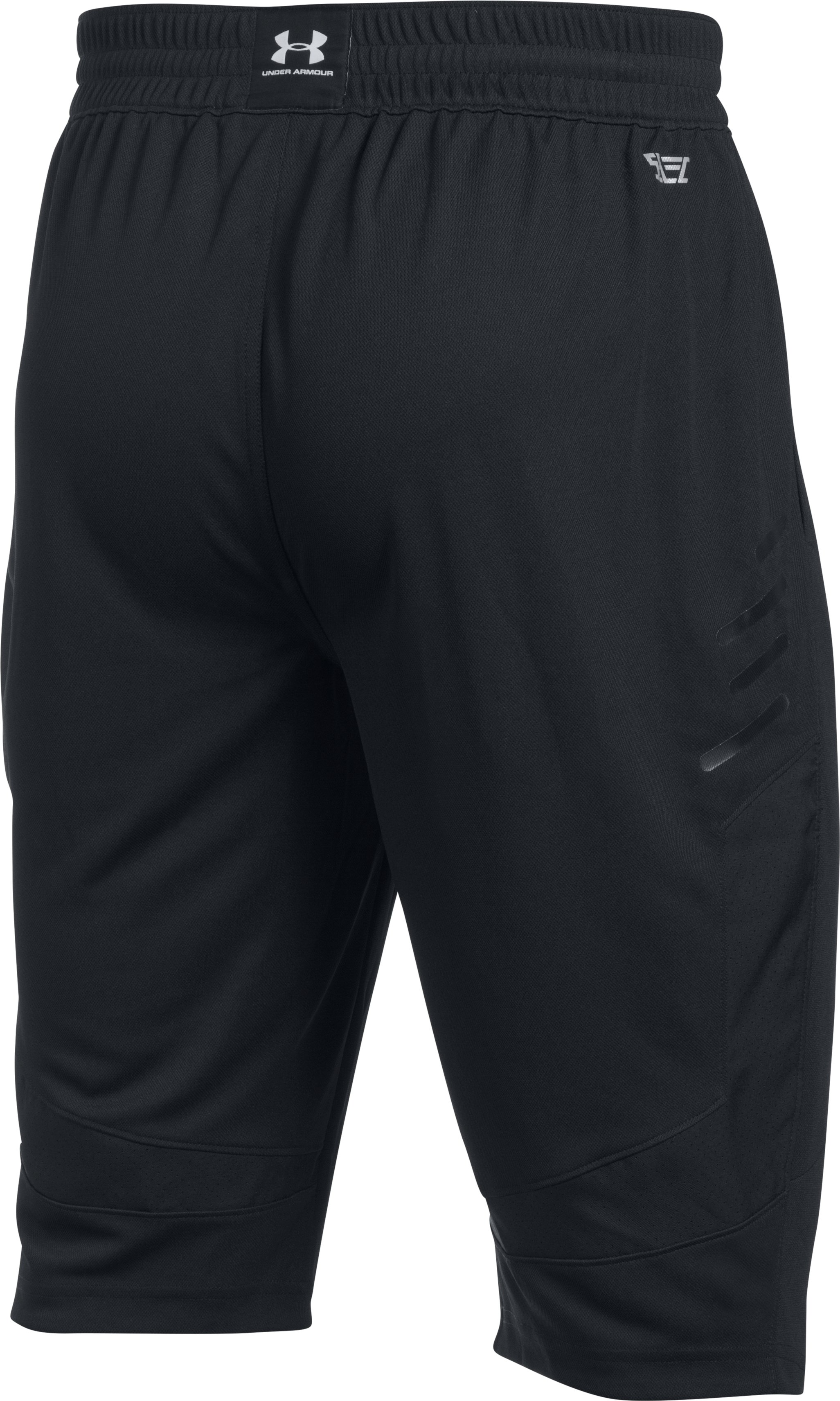 Men's UA Team ½ Pants, Black ,