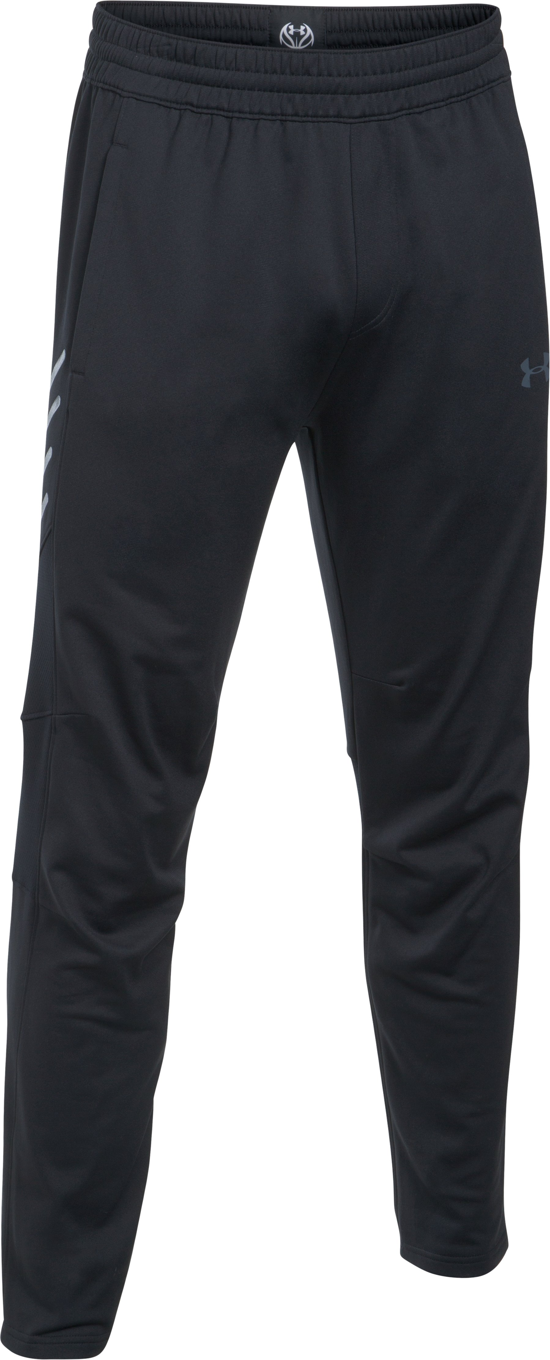 Men's UA Team Warm-Up Pants, Black , undefined