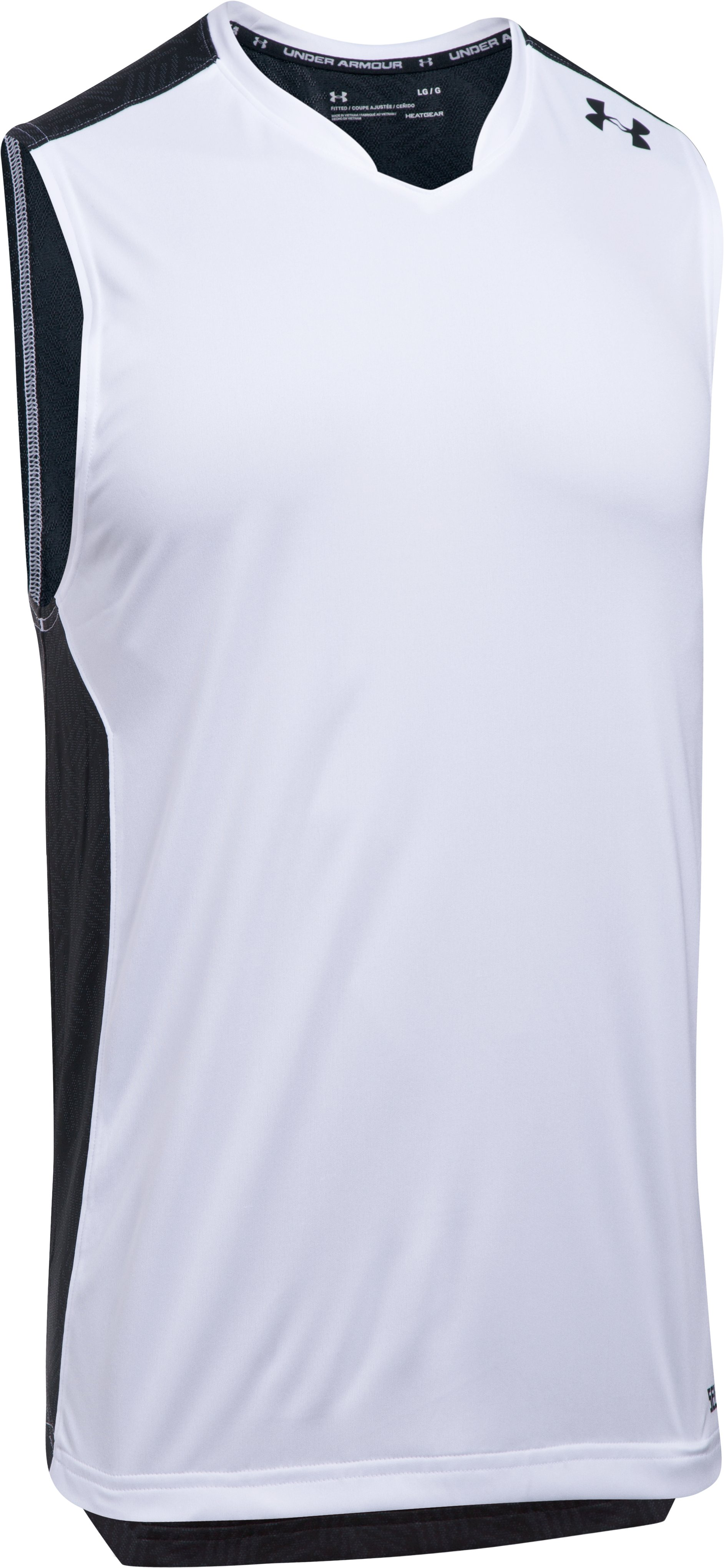 Men's UA Team Tank, White