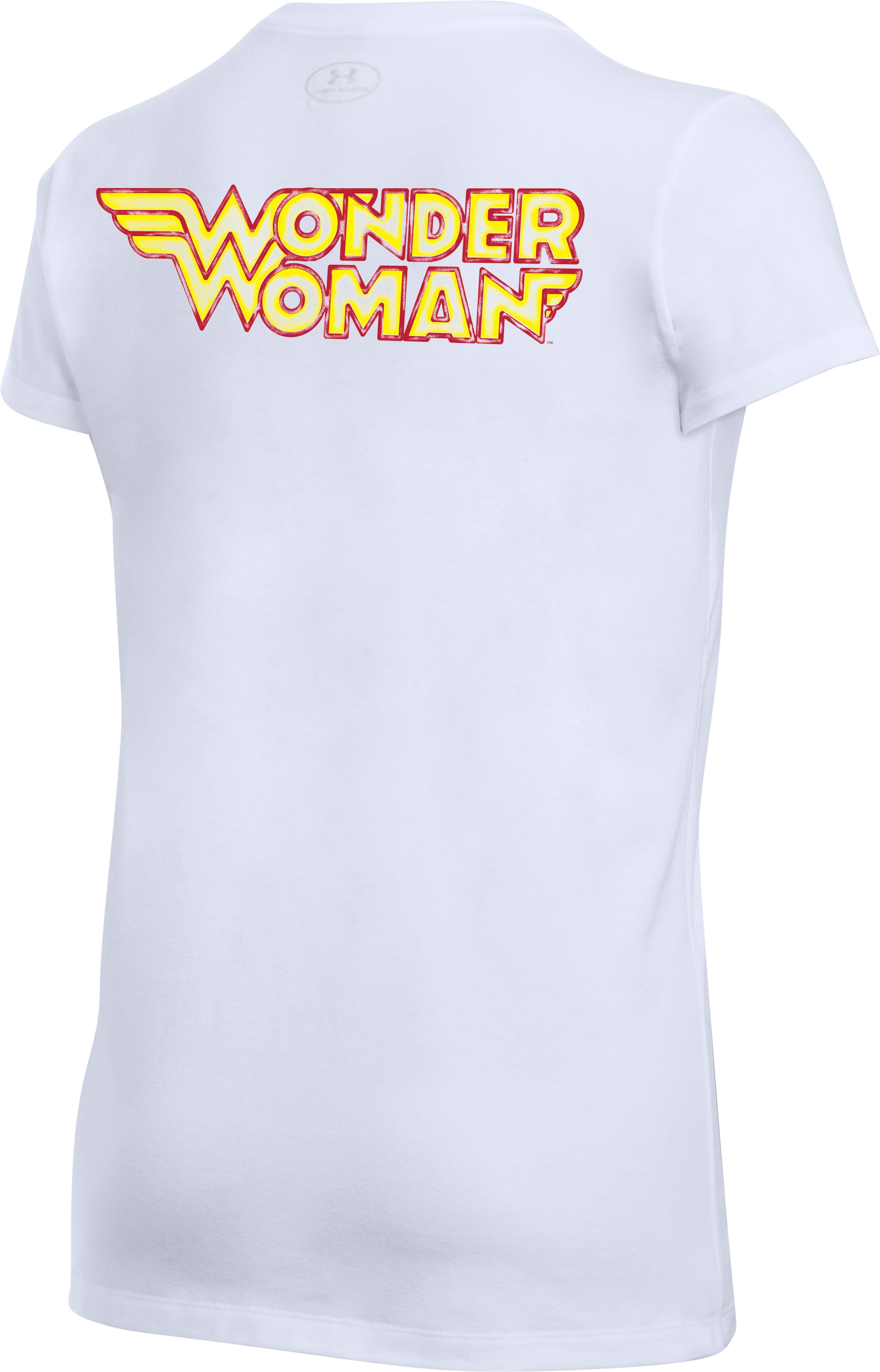 Women's Under Armour® Alter Ego Retro Wonder Woman Kettlebell Graphic T-Shirt, White,